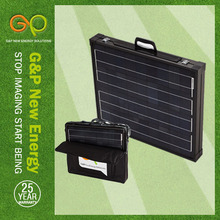 GP 160W Mono Foldable solar panel in high module eficiency with 1.5v cells