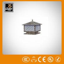 pl 2220 solar smd led street light pillar light for parks gardens hotels walls villas