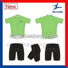 Healong Digital Printing Cool Max 2012 Tour De France Cycling Shirt