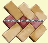 interlocking concrete block sizes