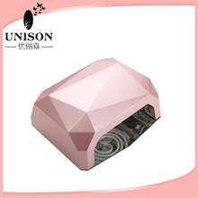 12w diamond pink ccfl nail lamp nail dryer,CE and ROHS nail art supplies