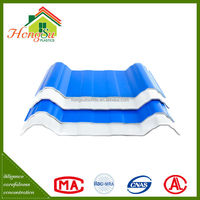 New product Promotion 4 layer antistatic insulation blue spanish sound insulation roof tile