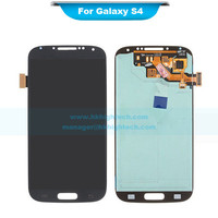 100% tested original touch screen for Samsung I9500 Galaxy S4 lcd display assembly for Samsung I9500 Galaxy S4