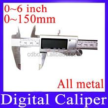 150mm Digital Caliper (All metal) With a small locking thumb screw