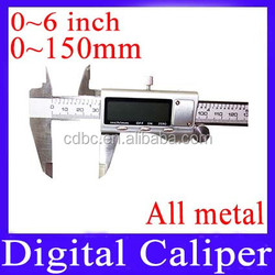 150mm Digital Caliper (All metal) With a small locking thumb screw