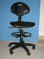 Adjustable Laboratory Stool with wheels / High quality lab chairs