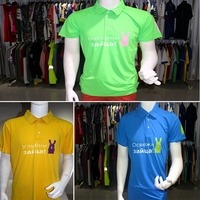 BSCI Richable 3colors 95%Polyesyer 5%Spandex 160GSM Polo T-shirt In Stock