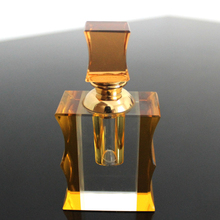 Yellow crystal night perfume handicraft