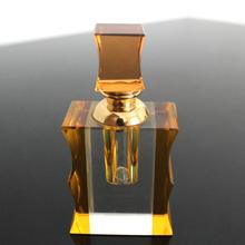 Yellow crystal night perfume handicraft