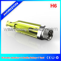 2014 hot selling H6 atomizer Pretty triangle shape electronic cigarette