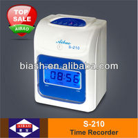 electronic time clock attendance system, item S-210