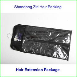 Hair extension printed opp header plastic bag manufacturer