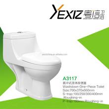 A3117 flush tank wash down single toilet for the elder
