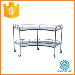 New discouted medical trolley cart,instrusment trolley,hospital trolley