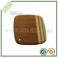 Bamboo Vegetable Cutting Board With Hole,Fish Chopping Board