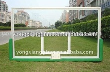 2013 New Design And Safety Tempered glass basketball backboard