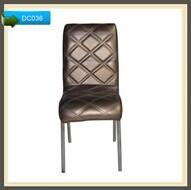 2015 New Arrival PU Leather Metal Luxury Hotel Dining Room Chair,For Young People