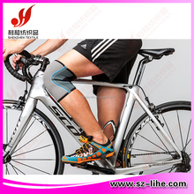elastic knee support band for cycling