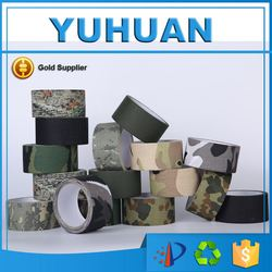 camouflage cloth tape with free samples cotton hotmelt insulation product