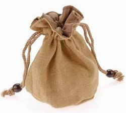 Small foldable jute giftbag,snowflake organza gift bags