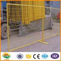 high quality canada standard ISO certificated temporary fence 6ft temporary fence panels