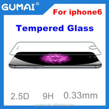 Factory price full cover tempered glass screen protector for iphone 6/all kinds of mobile phone