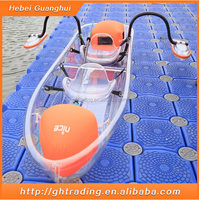 wholesale water park games sports for 2 people transparent kayak