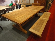 Table Antiq and Bench
