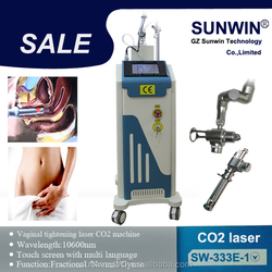 2015 new factory price cheapest co2 laser/fractional co2 laser equipment with Medical CE Approval (SW-333E-1)