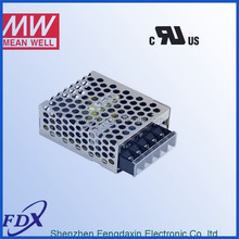 Meanwell 15W 5V 3A Switching Power Supply UL CUL RS-15-5