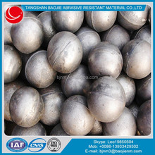 High magnetic cast iron balls used for minerals processing