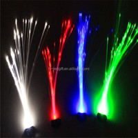 Supply a large party with light hair wigs flash Glow super bright LED's hair
