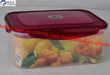 uso de plástico de calidad alimentaria para el envase de alimentos