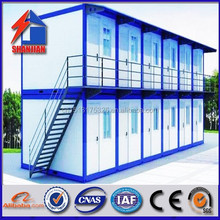 new design light steel frame storage container kit modular house made in china
