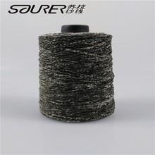 3.4n de poliéster teñidos mezclado hilos para tejer