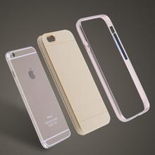 fashion design tpu mental mobile phone case for iphone6