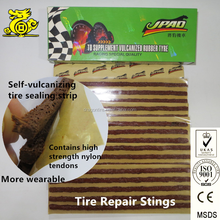 Tire Seal, Tube Patch and Tubeless Tire Repair String Of Car Accessory
