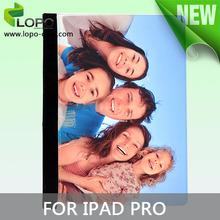 Latest sublimation leather flip case for IPAD PRO