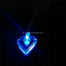 led new design necklace fashion led party decoration