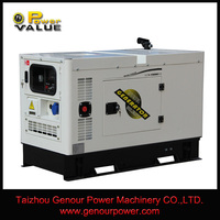 Power Value China alibaba,17kva silent Kipor diesel generator with remote start