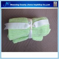 YET CT1 125 Woven Technics 100% cotton soft handmade crochet baby blanket