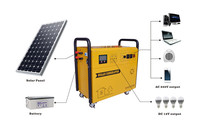 Factory directly sale renewable energy dc 1000w solar system