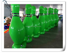 2015 top sales bowling ball,jumbo inflatable bowling set,advertising product