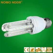 China Yiwu factory price E27 12w B22 high bright LED 3U Light lamp bulbs