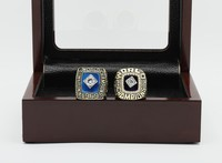 SJCR05 Classic Design MLB New York Mets 1969&1986 Year Championship Replica Ring With Luxury Box