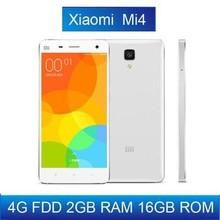"New arrival Original Xiaomi Mi4 M4 Mi4i 16GB 4G LTE Phone 5.0"" 1920*1080P Qualcomm Quad Core 2GB RAM 13MP Android 4.4 MIUI 6"