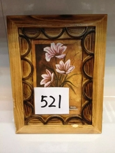 2015 Wholesale 4x6'' Opening Handmade Wood China Style Wooden Photo Picture Frame Oil Painting