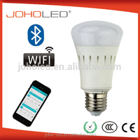 High quality 7.5w wifi led bulb rgb lamp e27 smart lighitng wifi bulb