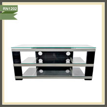 2014 hot sale remote controlled stainless steel tv stand