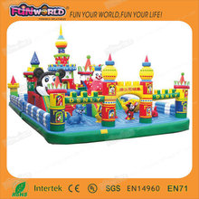 Hot Sale Inflatable Fun City & Commercial Inflatable Fun City